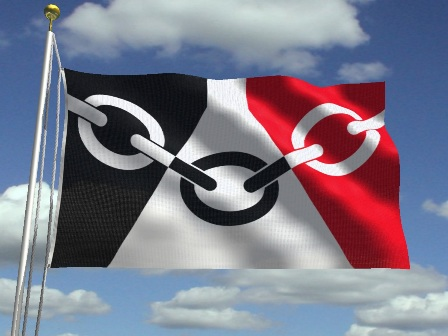Flag resized